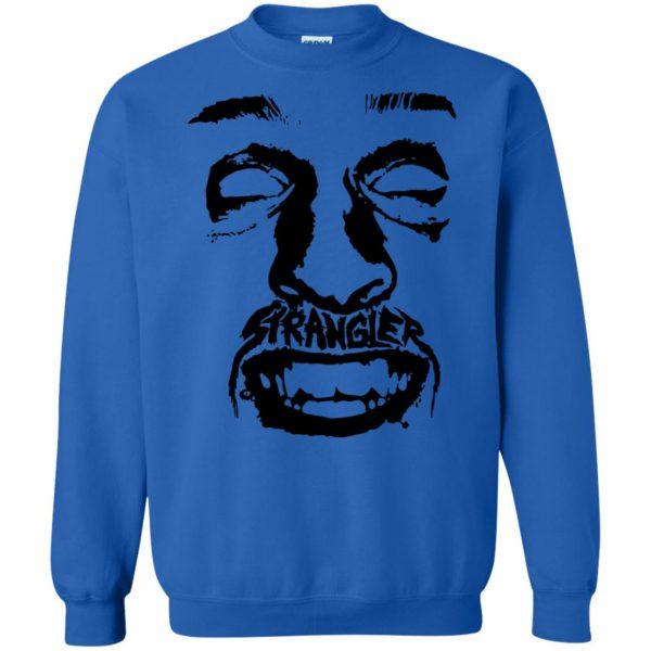 punk rock sweatshirt - royal blue