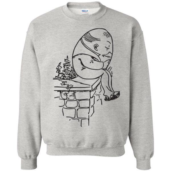 humpty dumpty sweatshirt - ash