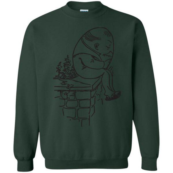 humpty dumpty sweatshirt - forest green