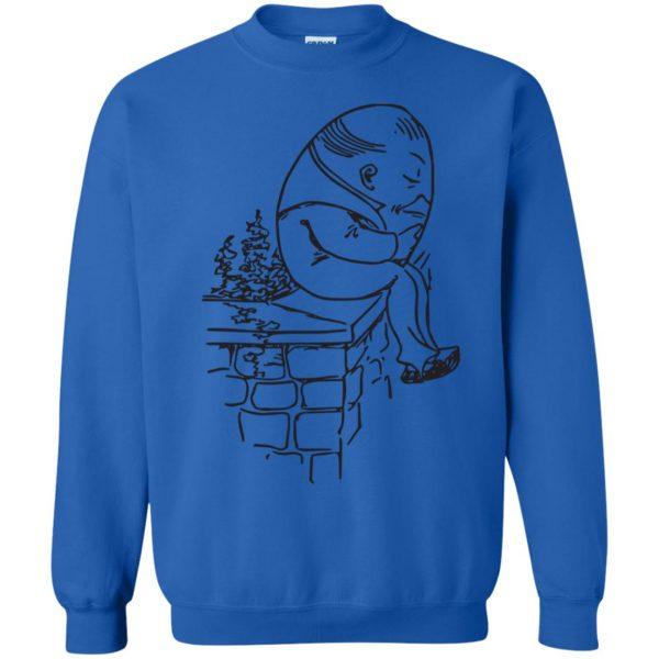 humpty dumpty sweatshirt - royal blue