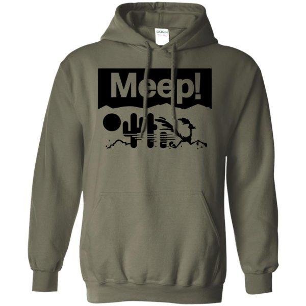 meeps hoodie - military green