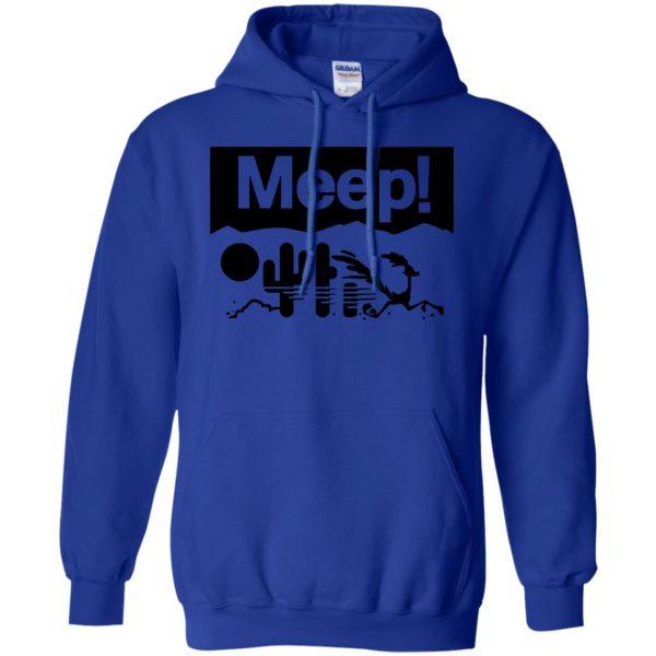 meeps hoodie - royal blue