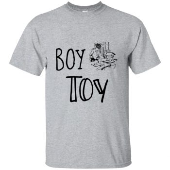 boy toy tshirt - sport grey