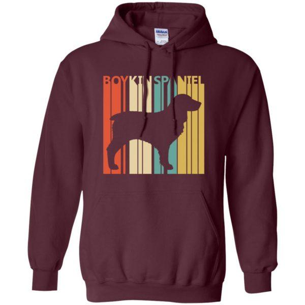 boykin spaniel hoodie - maroon