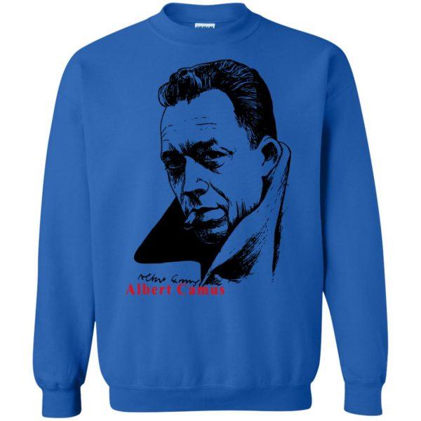 albert camus sweatshirt - royal blue