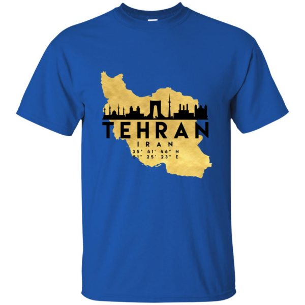 tehran t shirt - royal blue