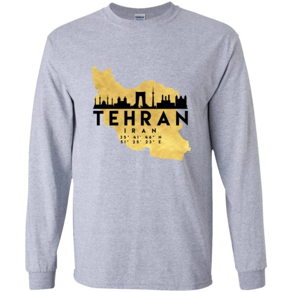 tehran long sleeve - sport grey