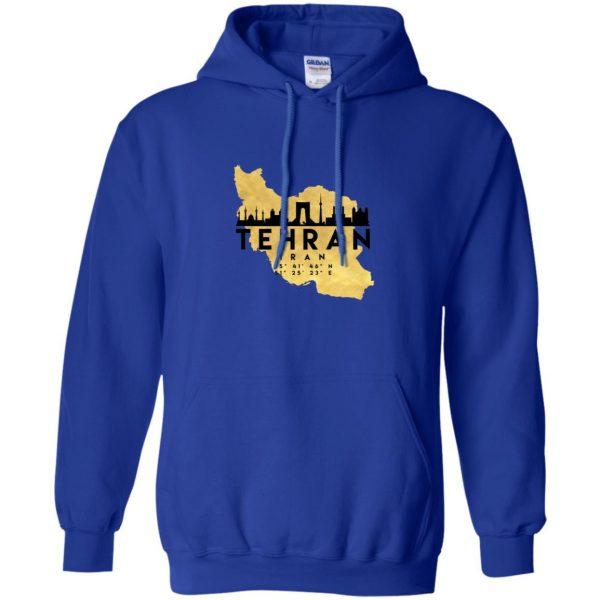tehran hoodie - royal blue