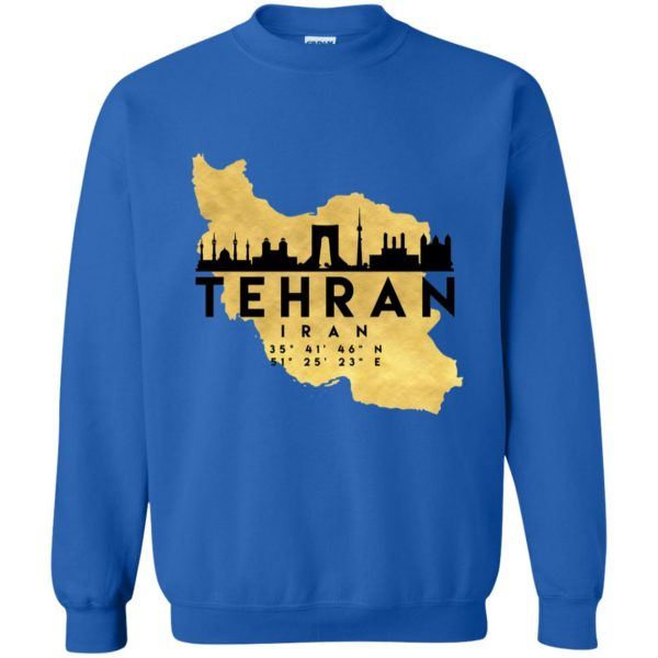 tehran sweatshirt - royal blue