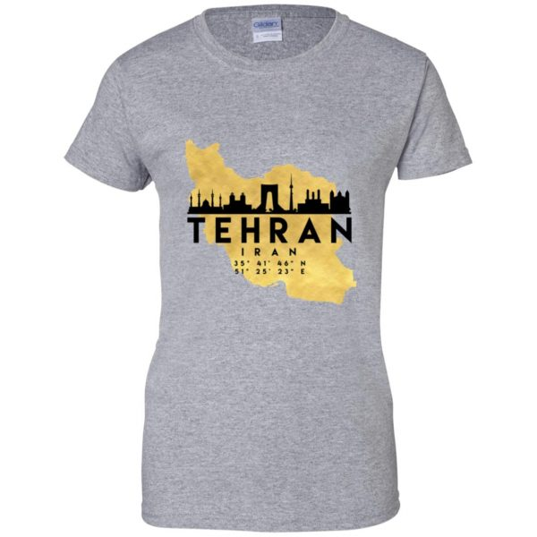 tehran womens t shirt - lady t shirt - sport grey