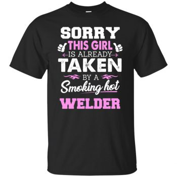 welder wife shirt - black