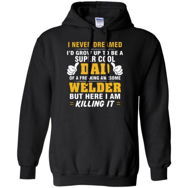 Welder Dad hoodie - black