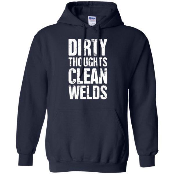 Funny Welder Quote hoodie - navy blue