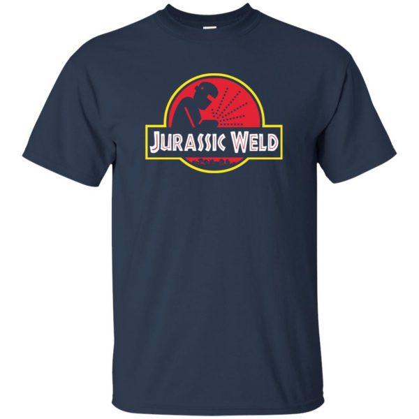 Jurassic Weld t shirt - navy blue