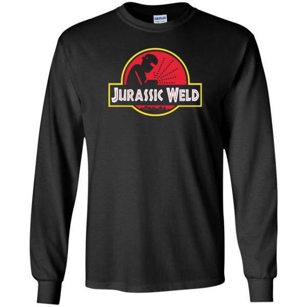Jurassic Weld long sleeve - black