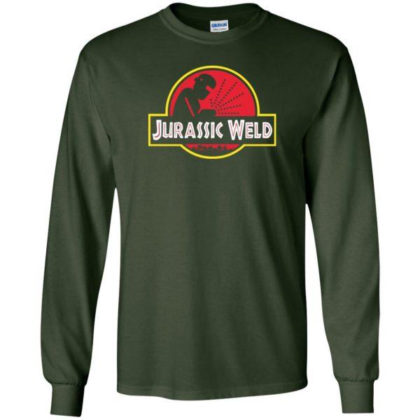 Jurassic Weld long sleeve - forest green