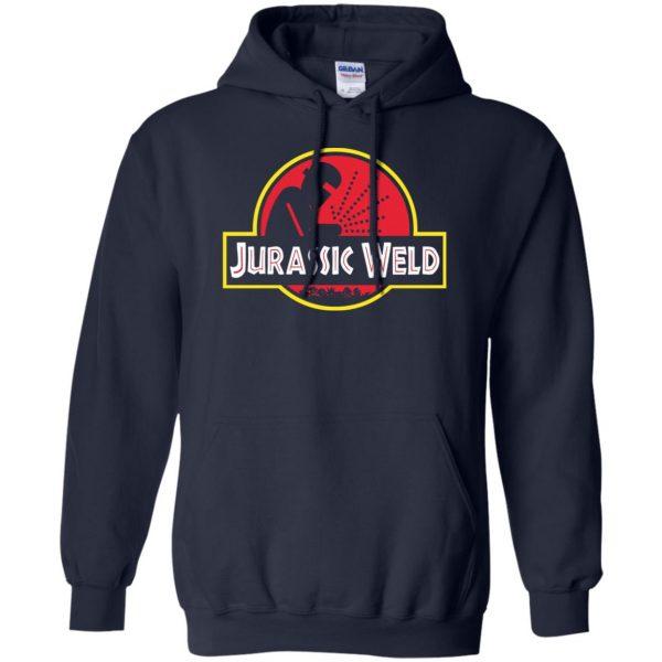 Jurassic Weld hoodie - navy blue