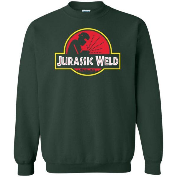 Jurassic Weld sweatshirt - forest green