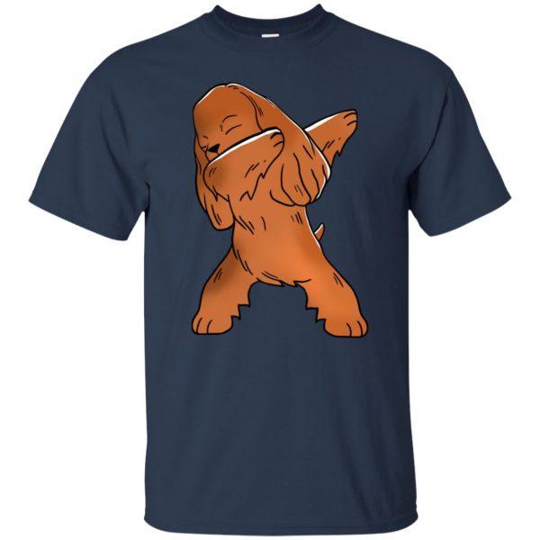 cocker spaniel t shirt - navy blue