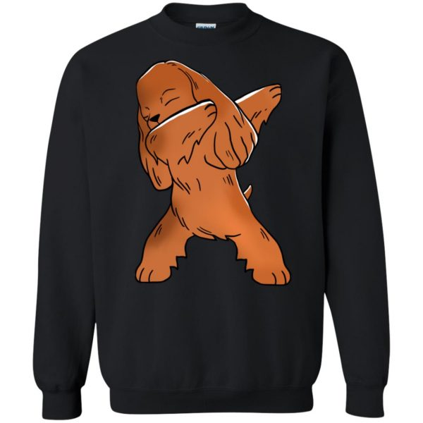 cocker spaniel sweatshirt - black