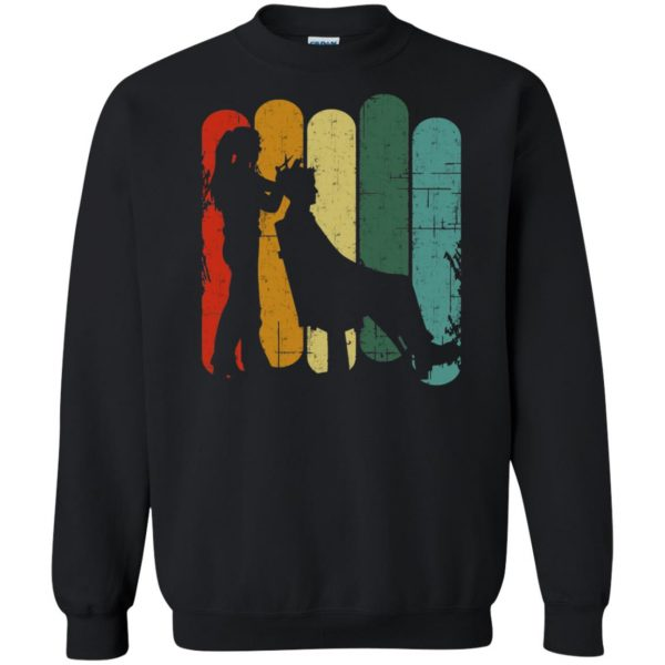 Vintage Retro Hair Stylist sweatshirt - black