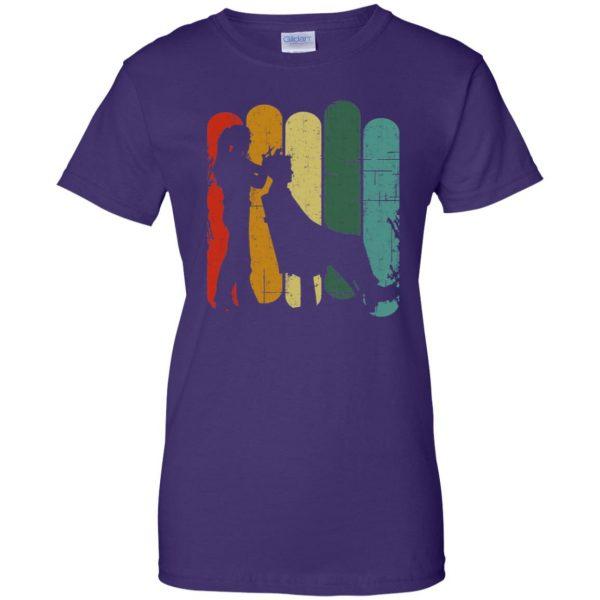 Vintage Retro Hair Stylist womens t shirt - lady t shirt - purple