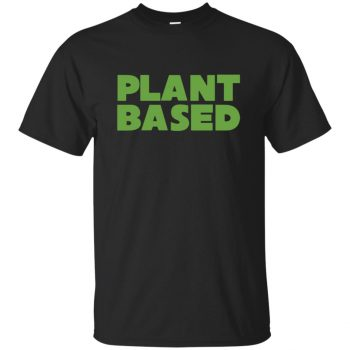 plant based shirt - black