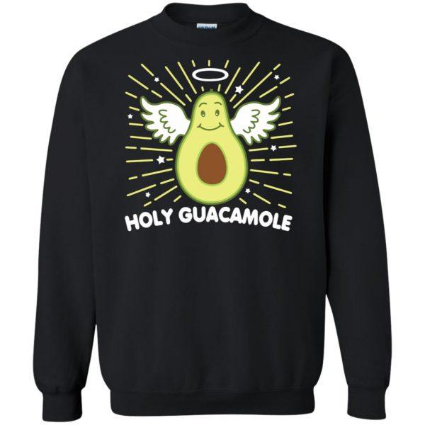 holy guacamole sweatshirt sweatshirt - black