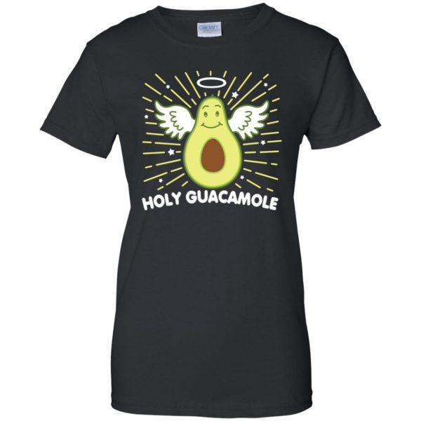 holy guacamole sweatshirt womens t shirt - lady t shirt - black