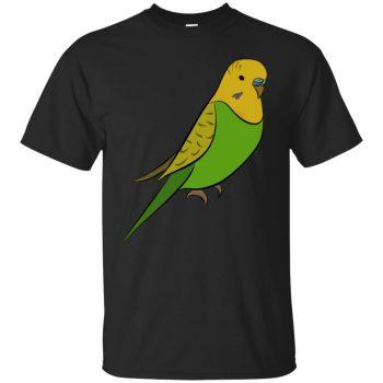 parakeet shirt - black