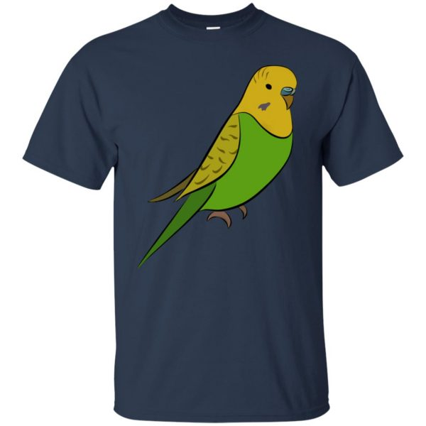 parakeet t shirt - navy blue
