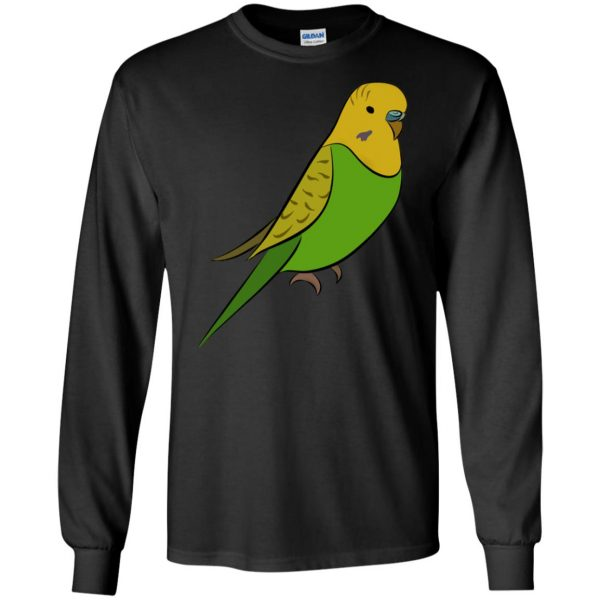 parakeet long sleeve - black
