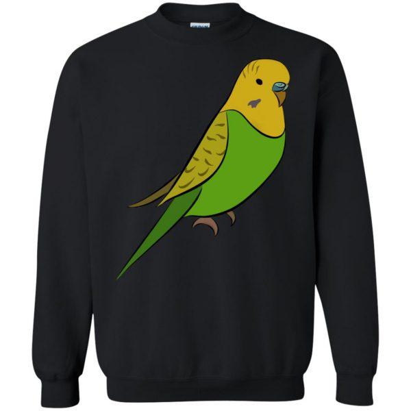 parakeet sweatshirt - black