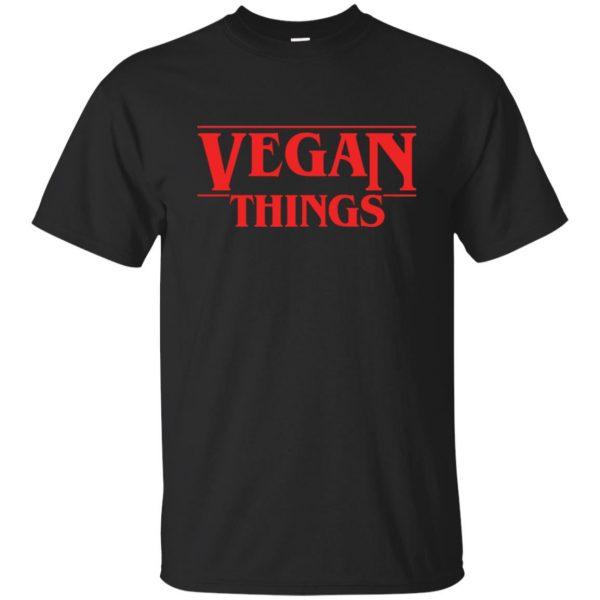 Vegan Things T-shirt - black