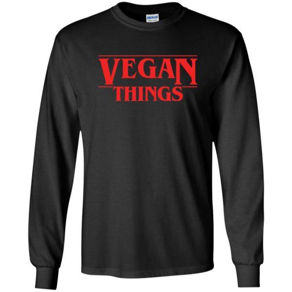 Vegan Things long sleeve - black