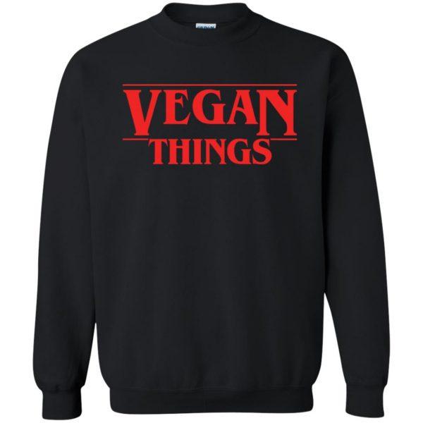 Vegan Things sweatshirt - black