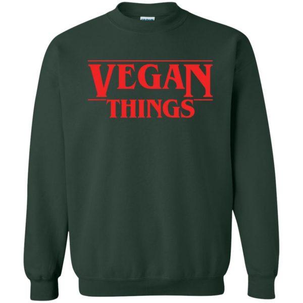 Vegan Things sweatshirt - forest green