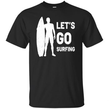 Let's go Surfing T-shirt - black