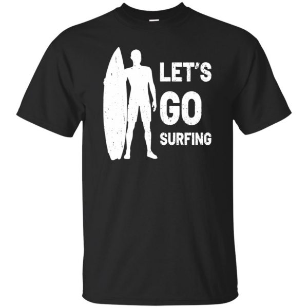 Let's go Surfing T-shirt - black