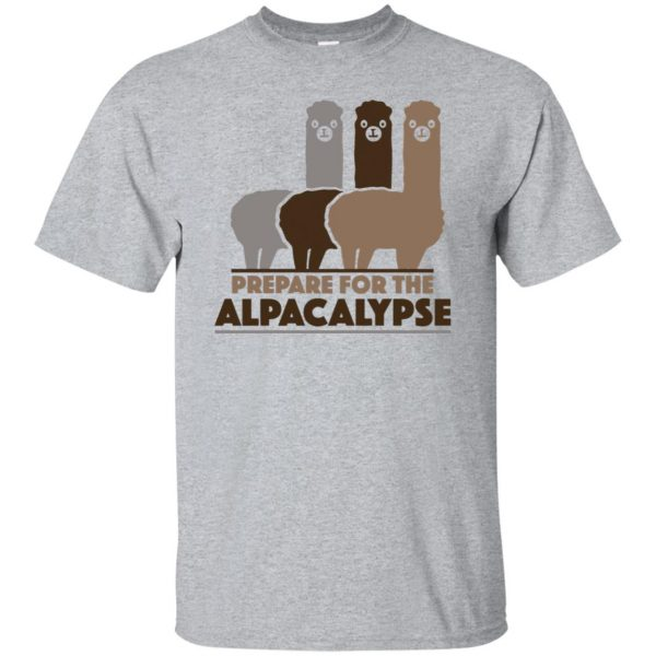 alpacalypse shirt - sport grey