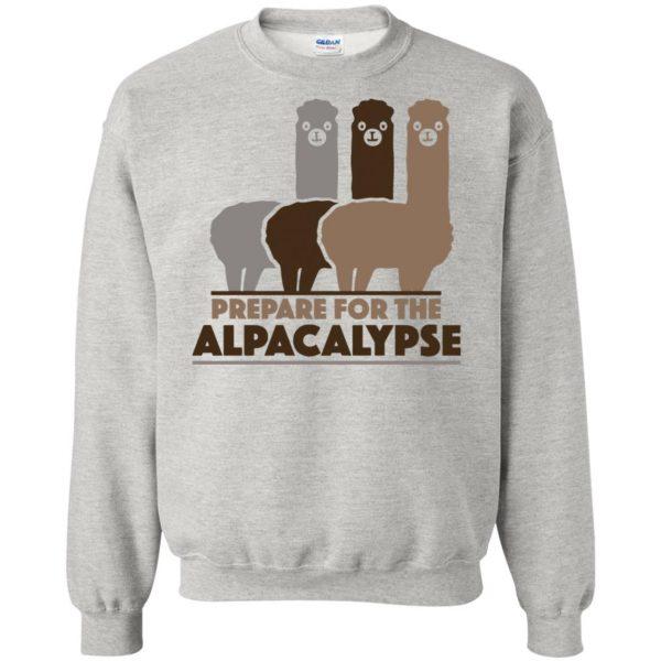 alpacalypse sweatshirt - ash
