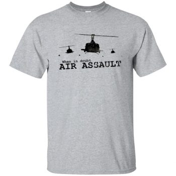 air assault t shirt - sport grey
