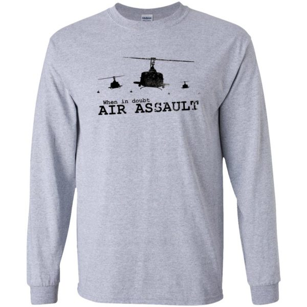 air assault long sleeve - sport grey