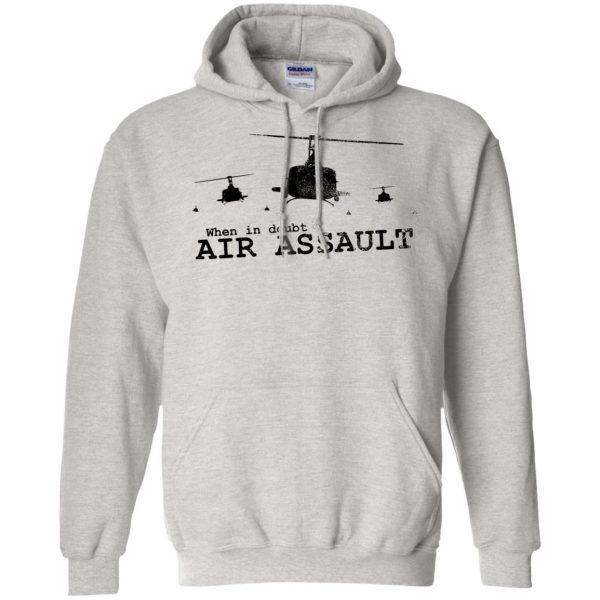 air assault hoodie - ash