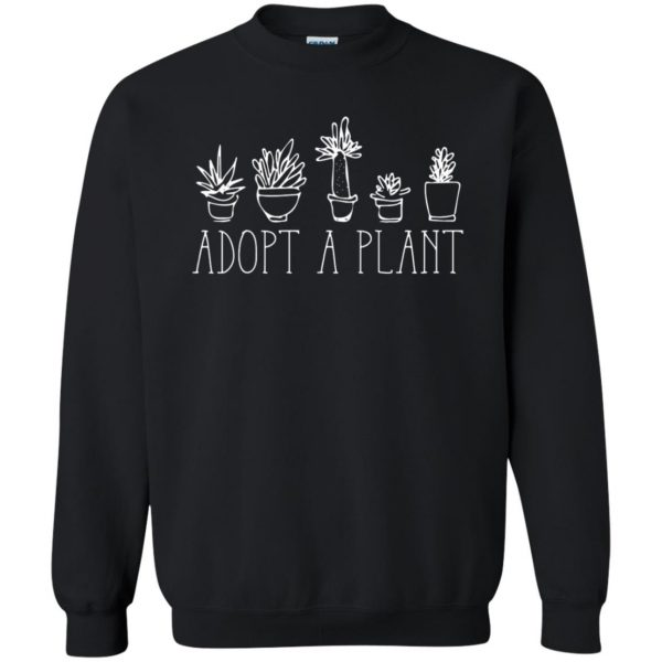 Adopt A Plant sweatshirt - black