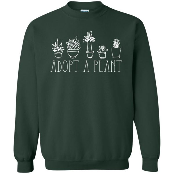 Adopt A Plant sweatshirt - forest green