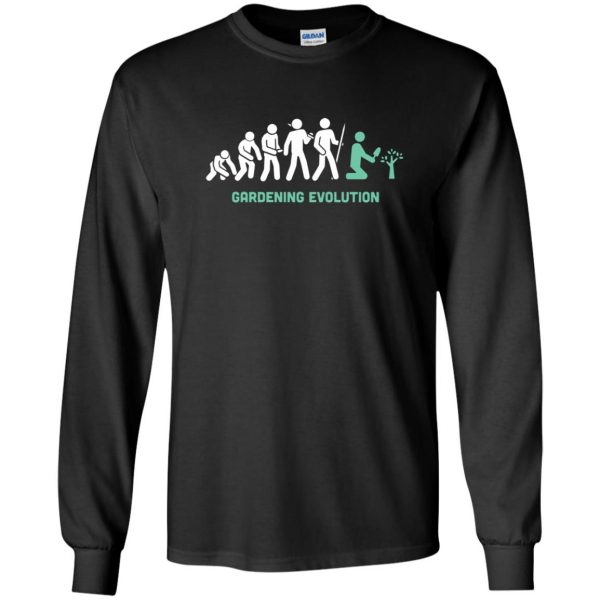 Gardening Evolution long sleeve - black