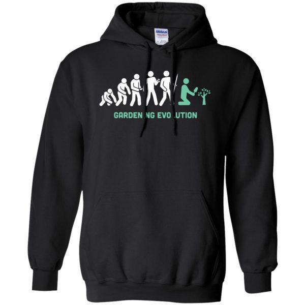 Gardening Evolution hoodie - black