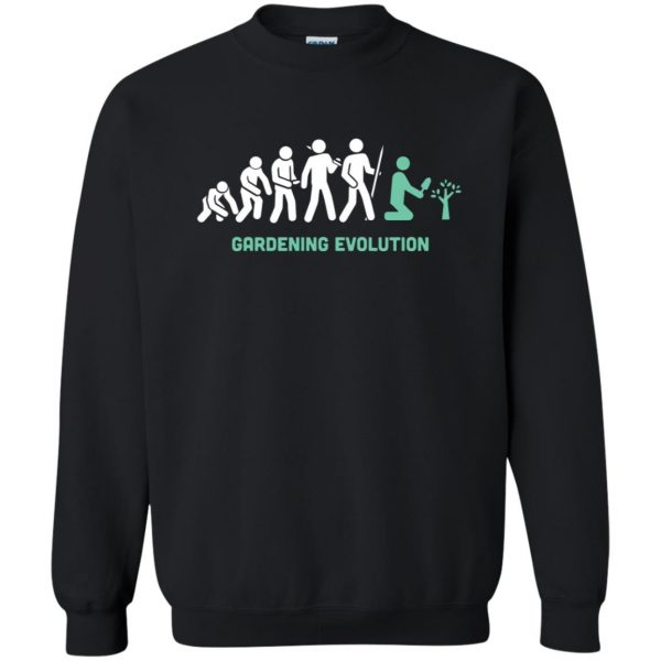 Gardening Evolution sweatshirt - black