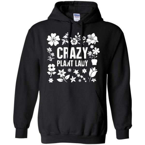 Crazy Plant Lady hoodie - black